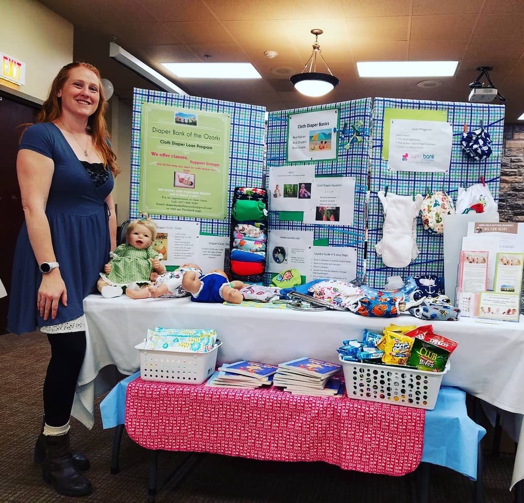 Diaper Bank Ozarks On Twitter Were At The Cmh Baby Fair Until