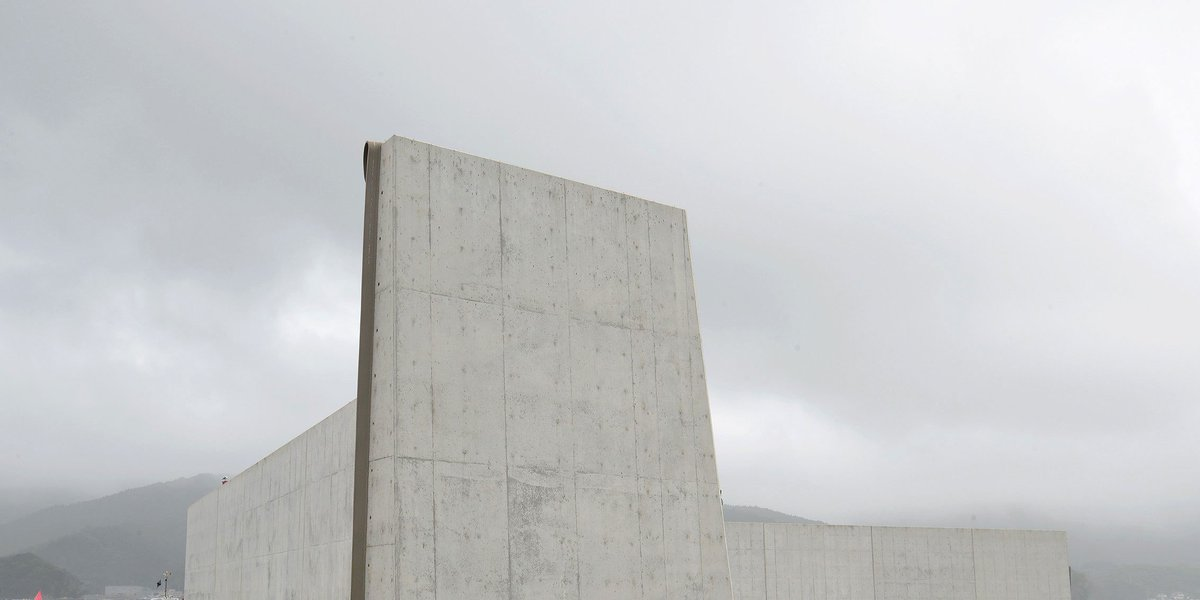 Long, high walls for protection - but this time they're in Japan bit.ly/2r5PM4F