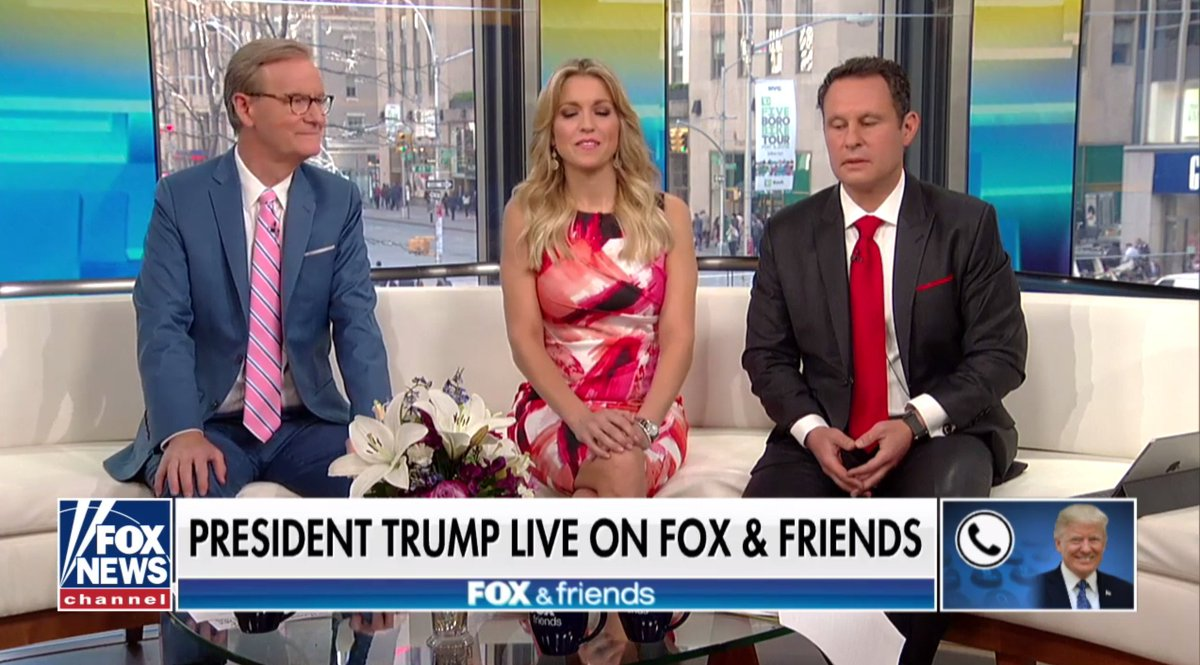 Steve Doocy, Ainsley Earhardt, Brian Kilmeade and 2 others