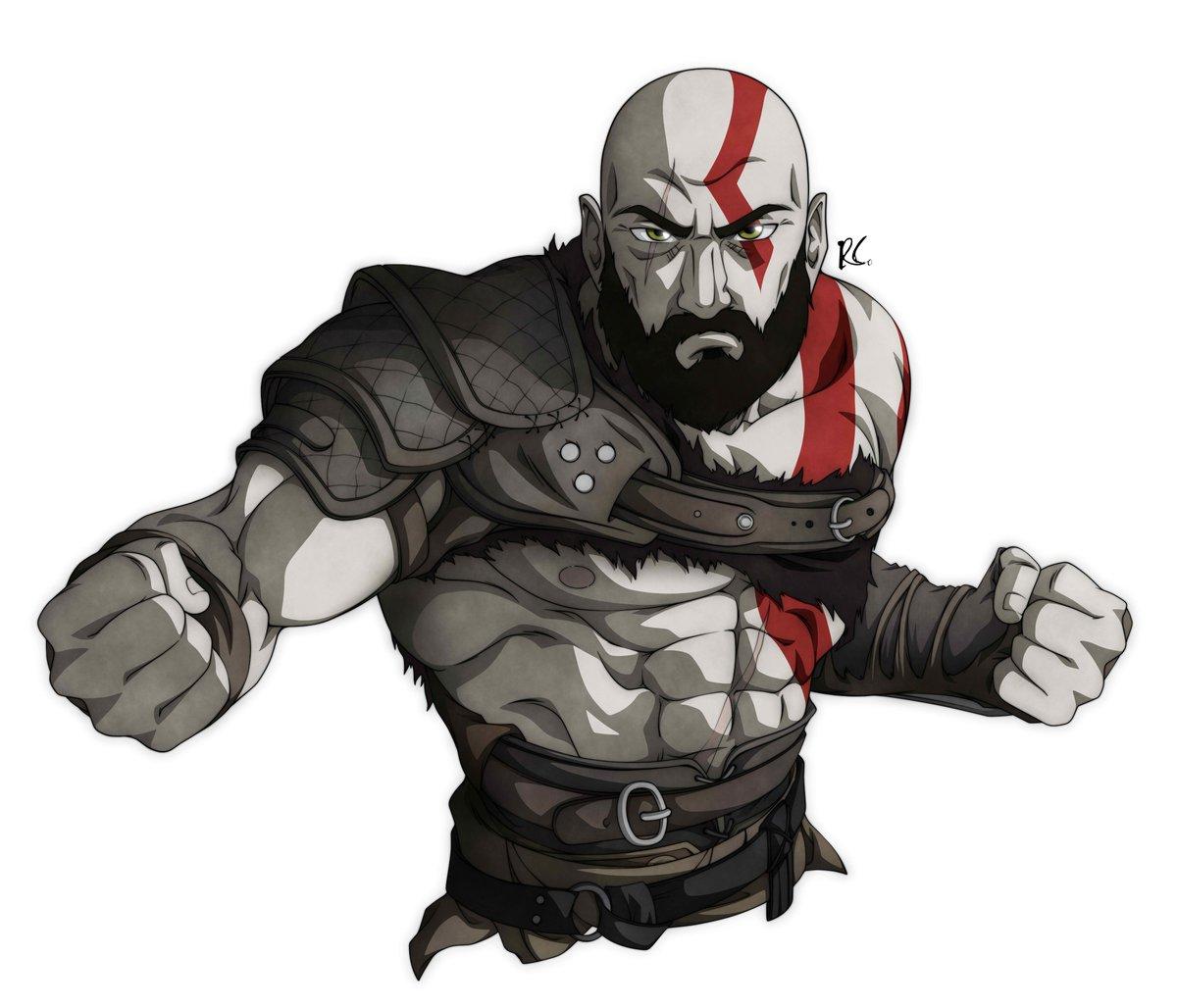 Neco On Twitter Kratos God Of War 2018