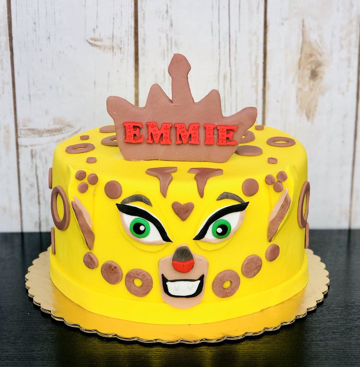 Outstanding Benibakery A Twitter Cheetah Themed Cake Happy 6Th Birthday Personalised Birthday Cards Petedlily Jamesorg