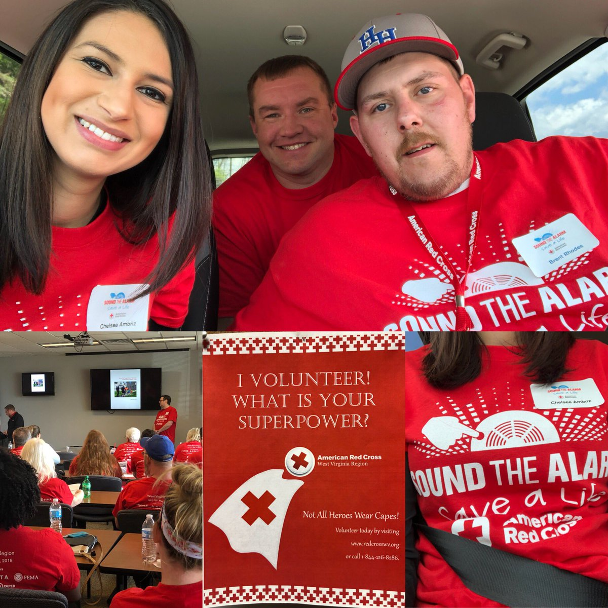 Chelsea Ambriz On Twitter Not All Super Heroes Wear Capes I M One Of Thousands Of People Out Installing Smoke Alarms In Homes This Month Soundthealarm Savealife Redcross Nationalsuperheroday Https T Co Nvtxh3zdik