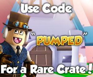 Isaac On Twitter Use Code Pumped For A Free Rare Hat Crate