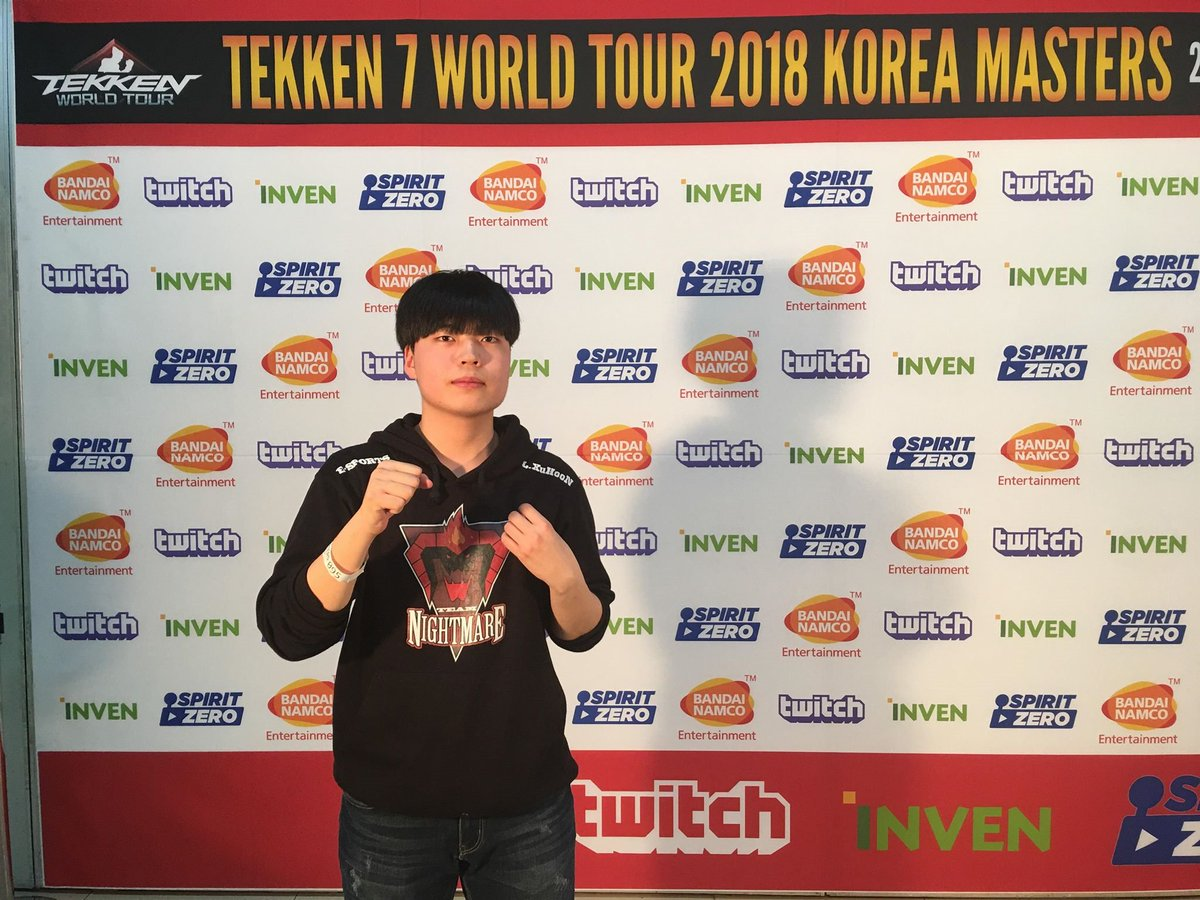 Tekken On Twitter Congrats To Nigtmare Ulsan For Making It To Top 16 Losers Side From Pool 6 At Twt S Korea Masters 2018 Tune In To Https T Co 7x3648orgl To Catch Him And