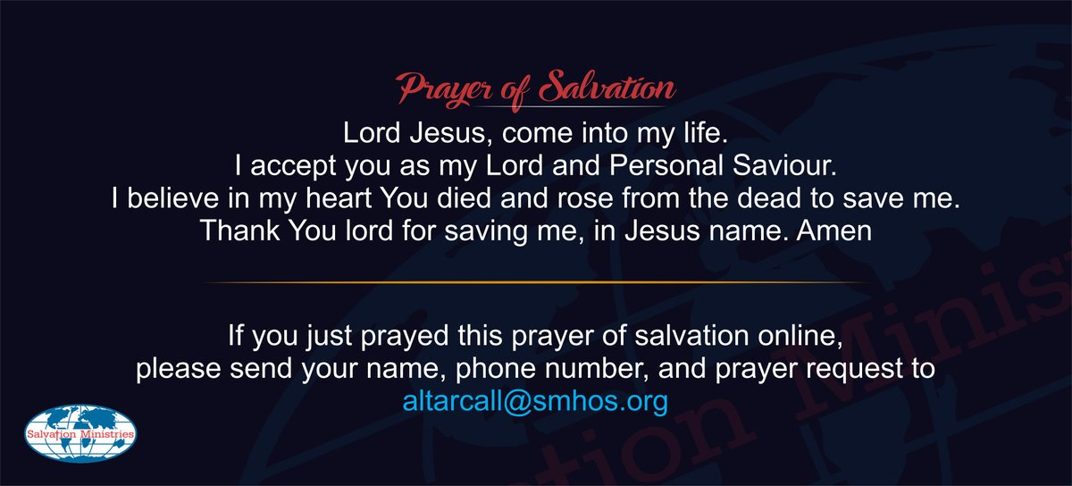 Salvation Ministries on Twitter: