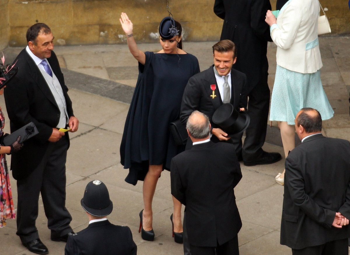 Victoria Beckham Fr On Twitter 7 Years Ago Royal Wedding Can T Wait For Harry Aghan Victoriabeckham Davidbeckham