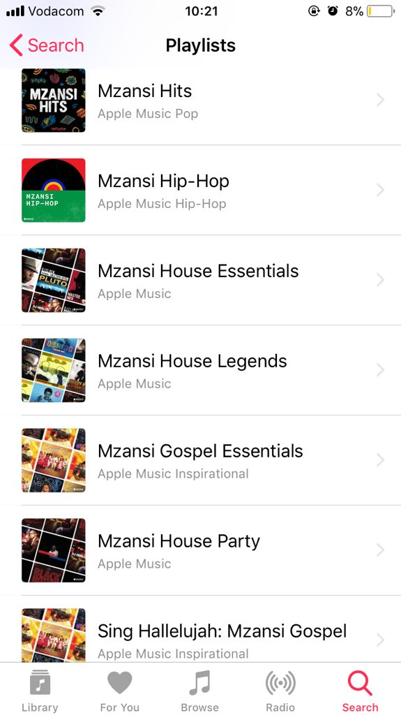 @chancetherapper Go on Apple Music, type Mzansi and you'll get a few options