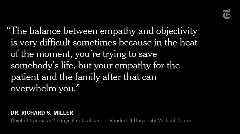 How 2 trauma surgeons cope with the onslaught of mass shootings https://t.co/dpHnNphrqM https://t.co/la0PLPKequ