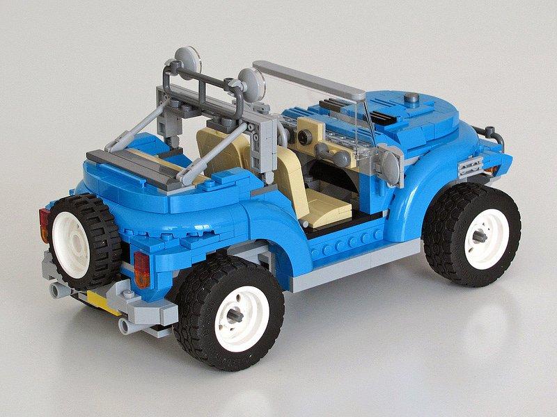 LEGO beetle on JumPic com