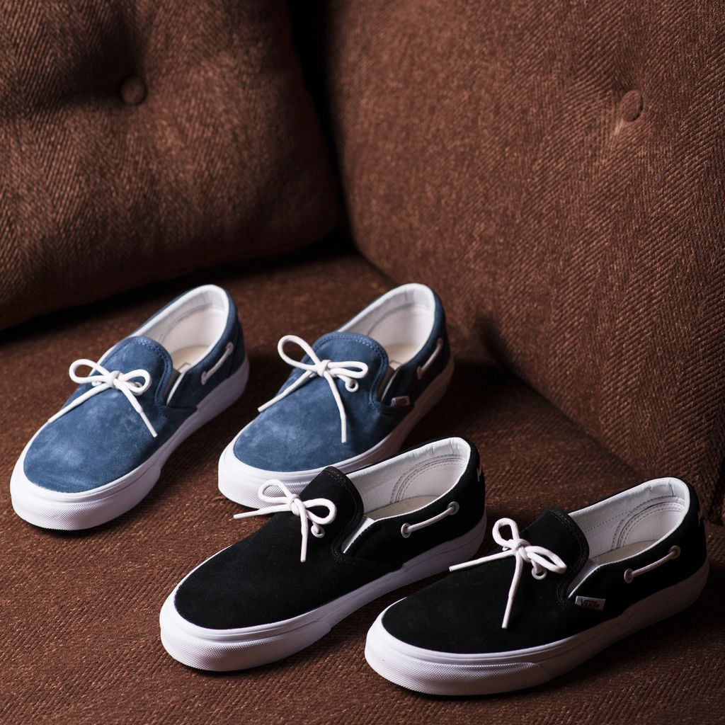 f4563017e063 Wraparound lacing brings a touch of nautical charm to a boat shoe–inspired  sneaker styled with a cushioned footbed and slip-on convenience. Lacey 72  Slip-On ...
