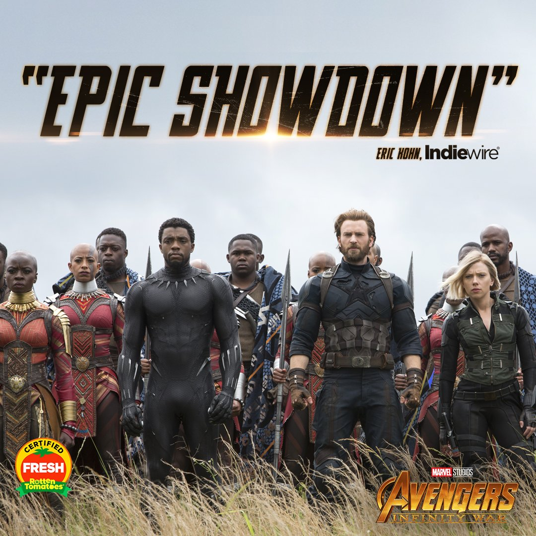 The wait is over. Marvel Studios' 'Avengers: #InfinityWar' is NOW PLAYING. Get tickets: https://t.co/kctg8VkHan https://t.co/tkmzdzU2t2