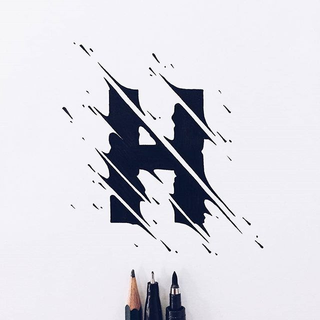 Lettering Daily On Twitter Very Cool Lettering Effect By