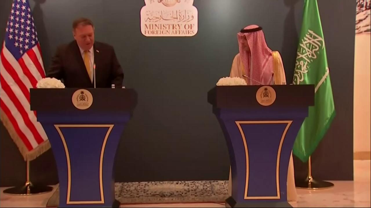 Secretary Pompeo: #SaudiArabia is a key partner and a longtime friend. https://t.co/C62wFDV1Bx