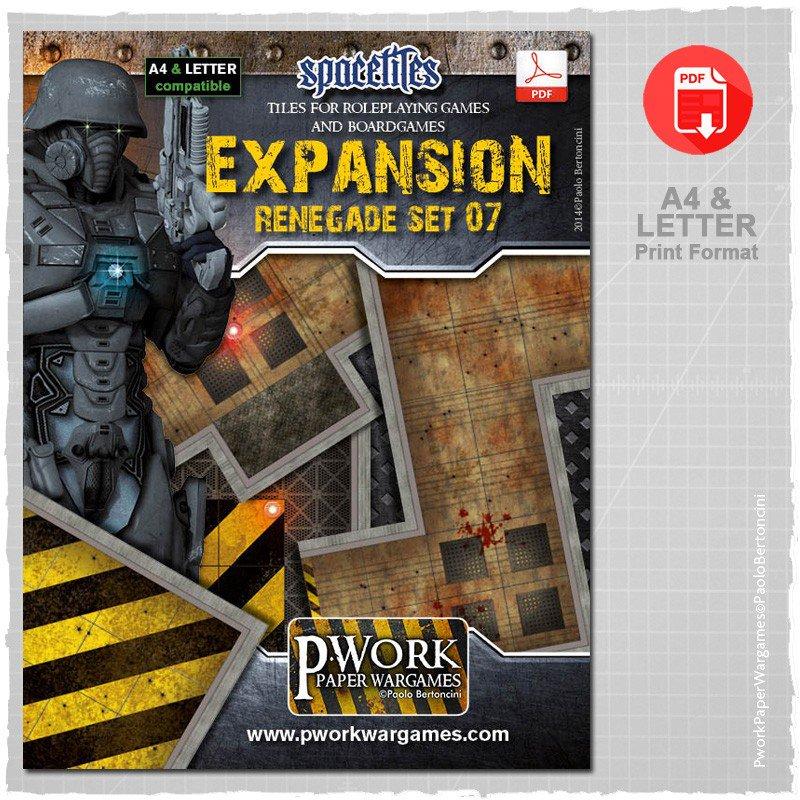pwork wargames on twitter renegade set and expansion pwork space