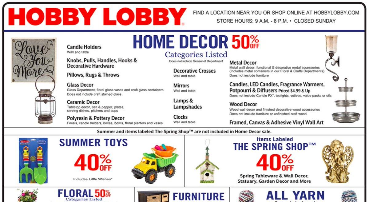 Official Hobby Lobby on Twitter: