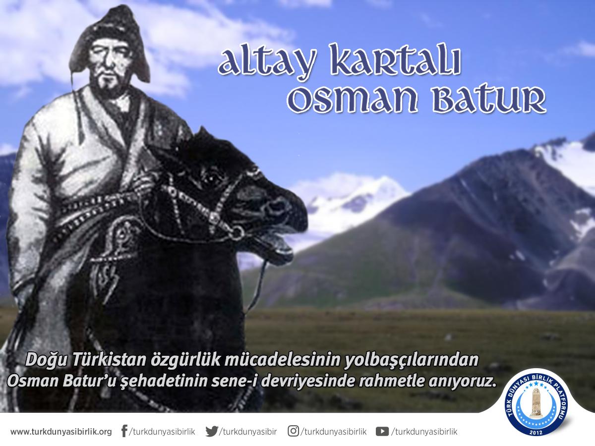 """Türk Dünyası Birlik Platformu ar Twitter: """"Doğu Türkistan özgürlük ..."""
