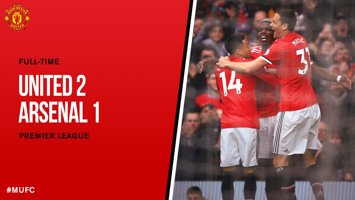 Chấm điểm kết quả Manchester United 2-1 Arsenal