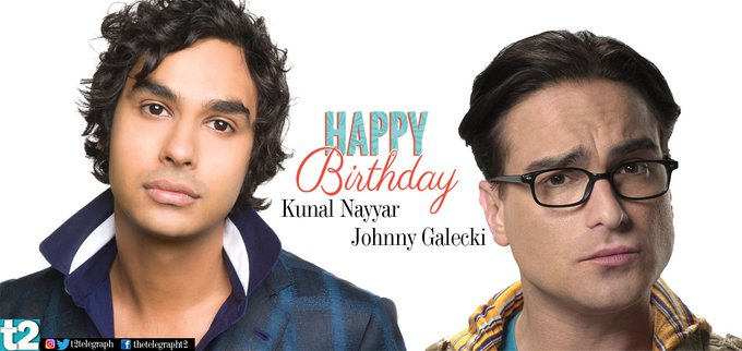 T2 wishes stars and Johnny Galecki a happy birthday!