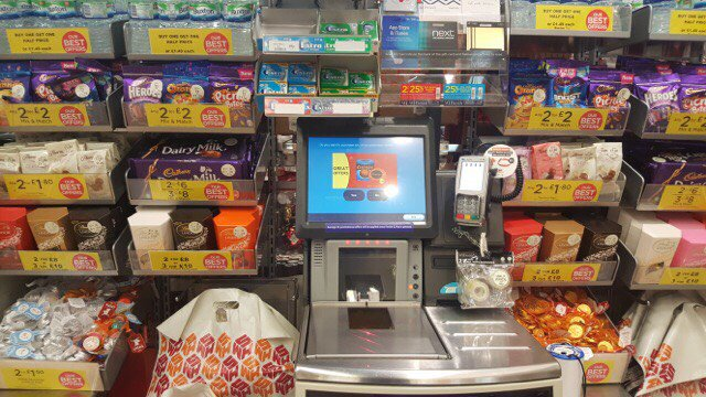 So much conversation around #WHSugar! Keep it coming. @WHSmith are not the only offenders but we still can't get over just how much chocolate is at their checkouts.👇 #BritainsFatFight