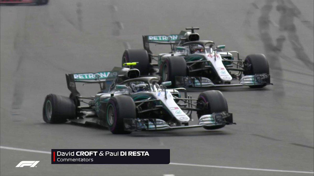 Lewis Hamilton wins chaotic Azerbaijan Grand Prix as Red
