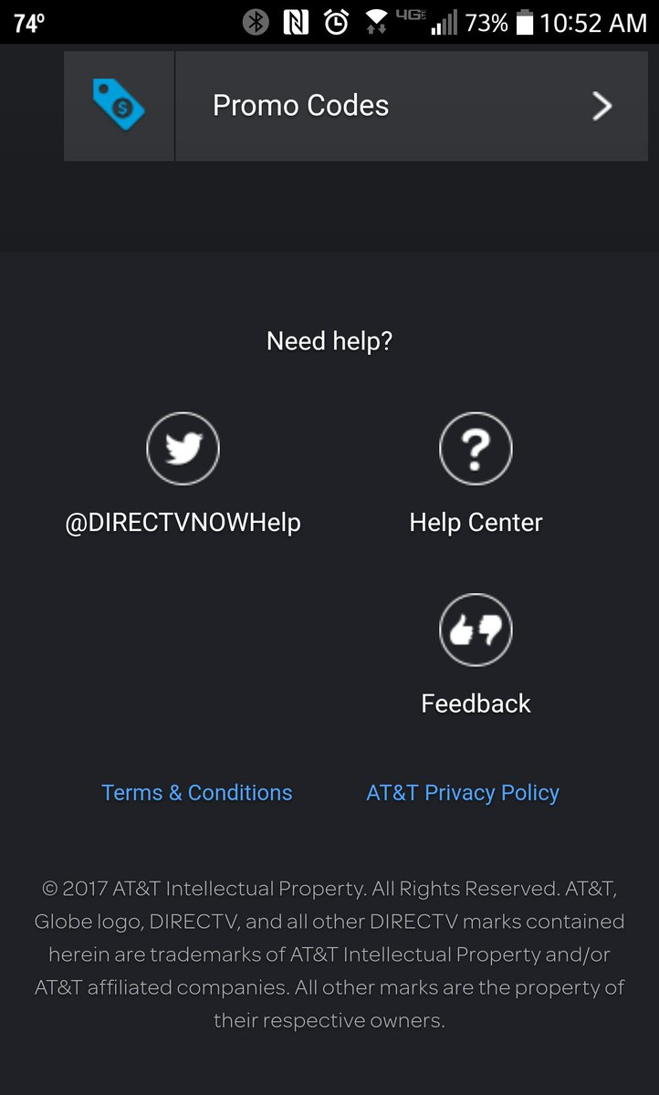 "directv now on twitter: ""at the present time, directv now only has"