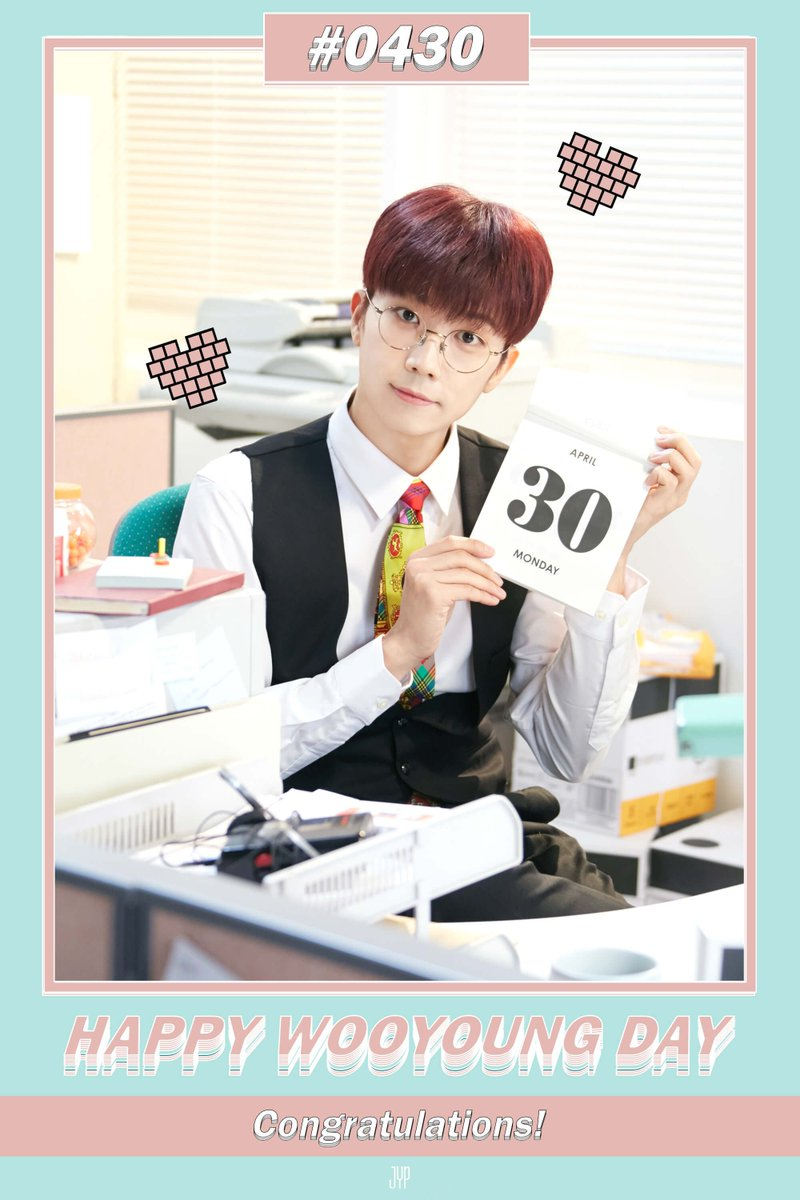 HAPPY BIRTHDAY WOOYOUNG  #VitaminWooyoungDay