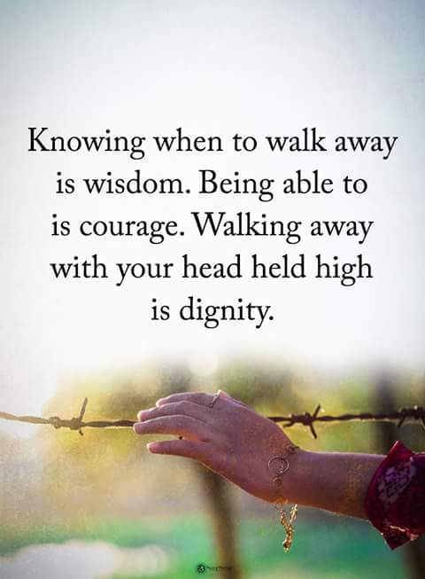 Inspirational Quotes On Twitter Knowing When To Walk Away Is