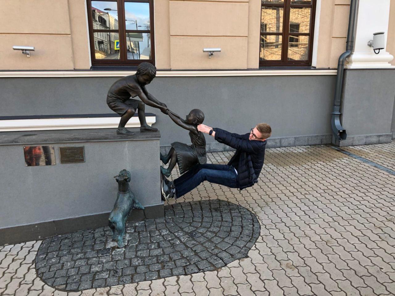 теме почему как лучше фотографироваться у статуи оригинальной