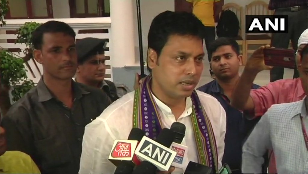 I didn't say mechanical engineers mustn't go for civil service. I said that civil engineers should join civil services as they have experience about administration: #Tripura CM Biplab Kumar Deb on his statement that mechanical engineer should not go for civil services