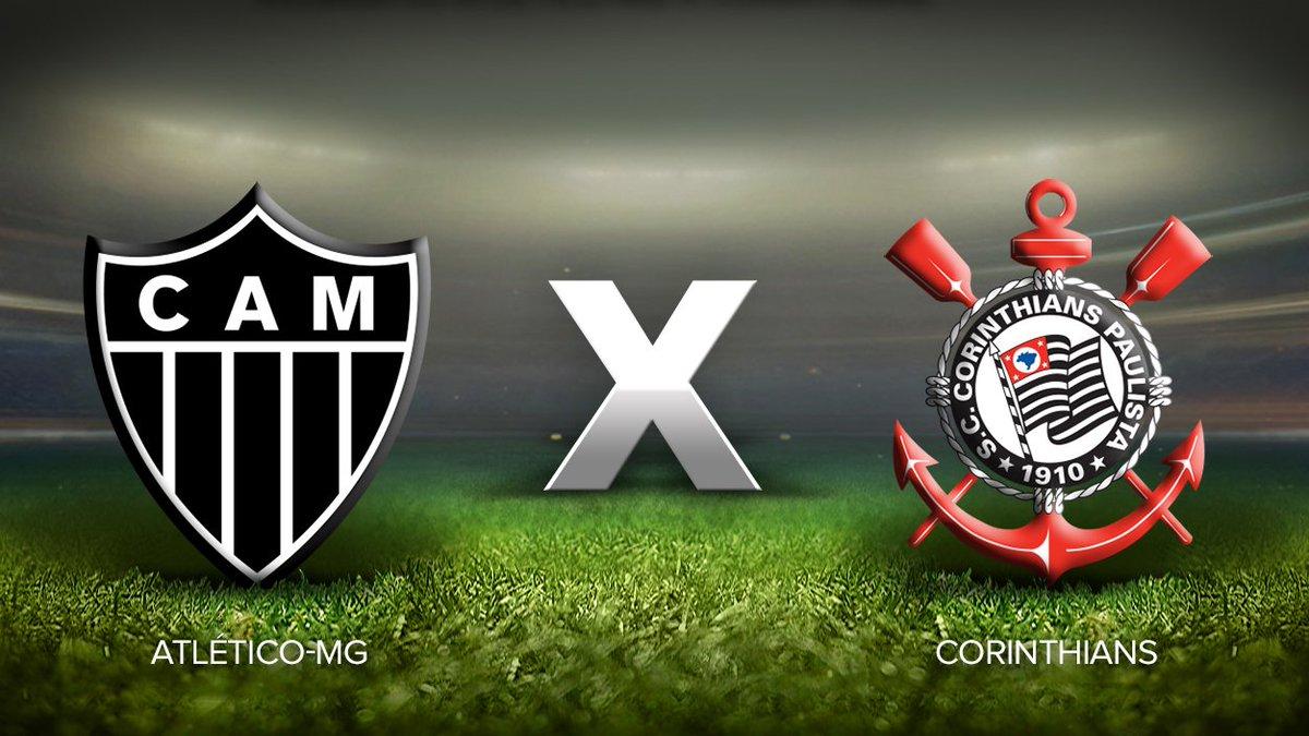 Atlético Mineiro x Corinthians: horário, local, escalações e transmissão