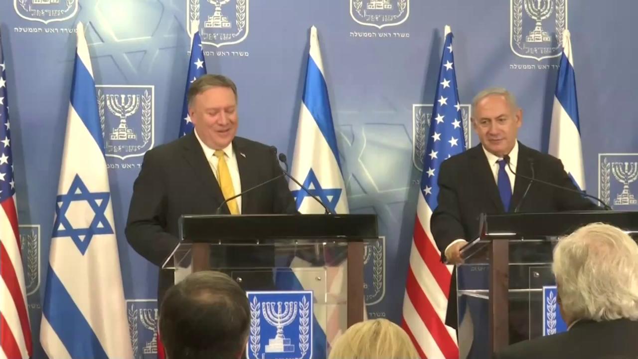 Watch Secretary Pompeo's full remarks with Israeli Prime Minister @Netanyahu in Tel Aviv. https://t.co/iNgNoKuoAO