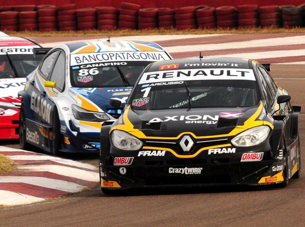 Súper TC 2000 | Ardusso hizo doblete en Mendoza