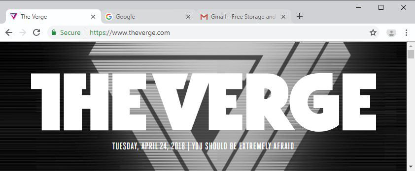 The Verge on Twitter: