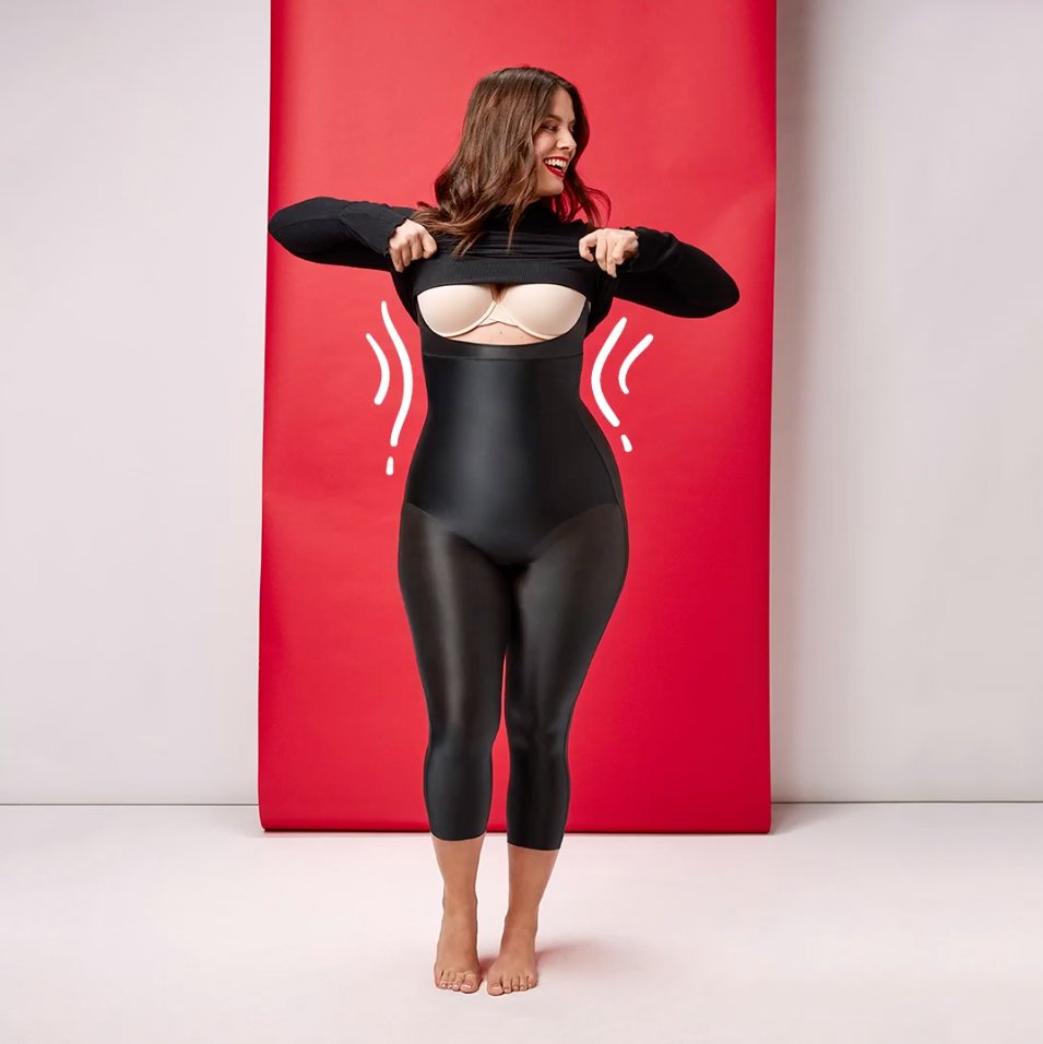 46bf480149958 The Suit Your Fancy Catsuit works magic! The open-bust style allows you to  pair it with any bra so you get perfect coverage from head to toe.