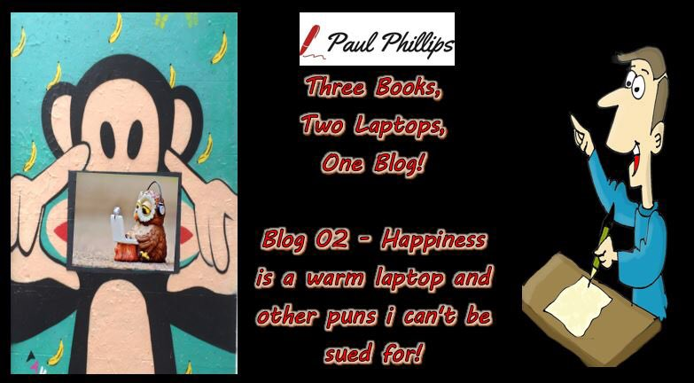 Paul Phillips Author's tweet -