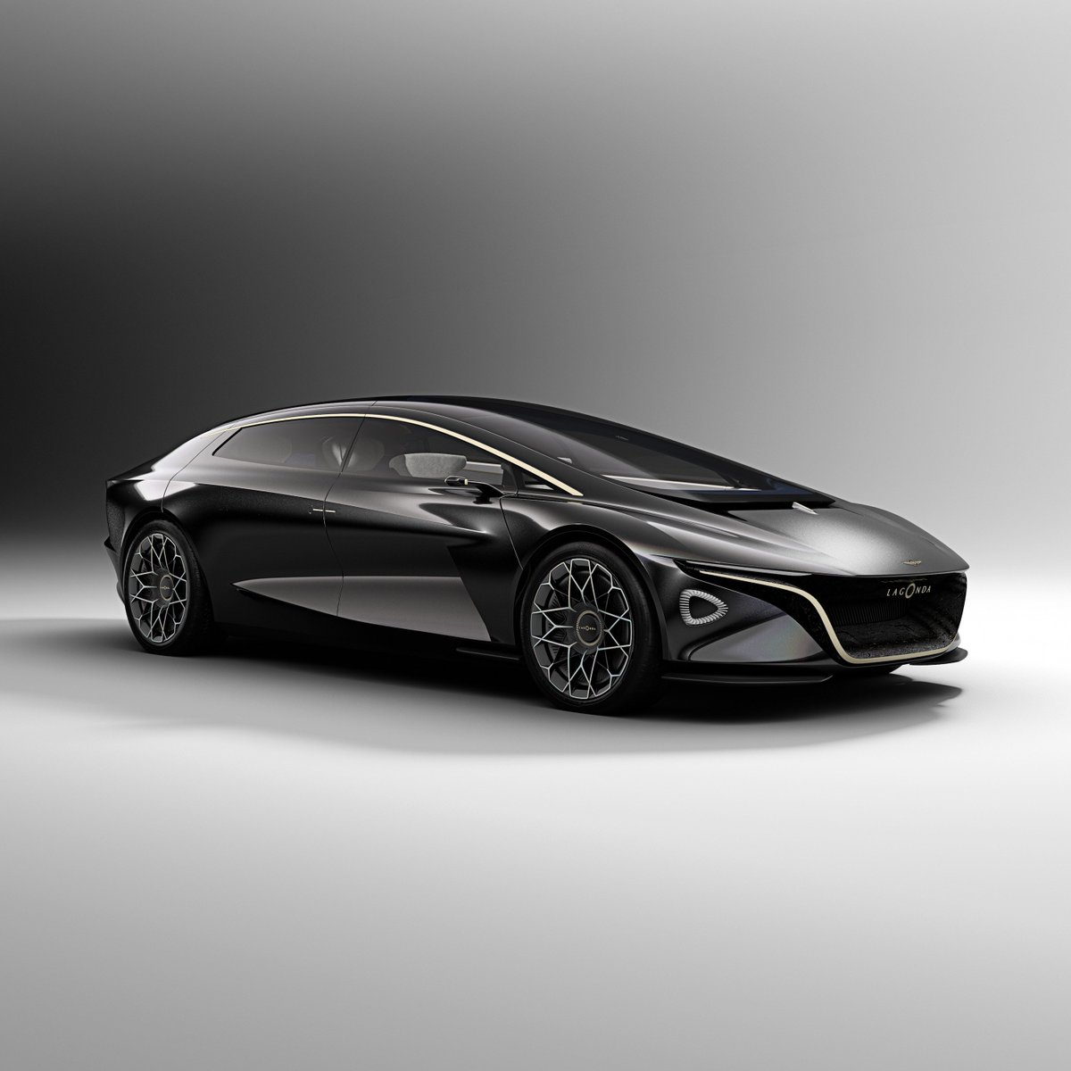 Image for the Tweet beginning: This luxury concept car has
