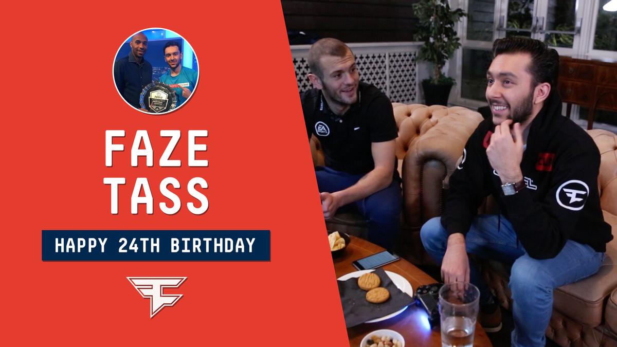 Happy 24th Birthday to @FaZeTass! ⚽️🎂 ht...