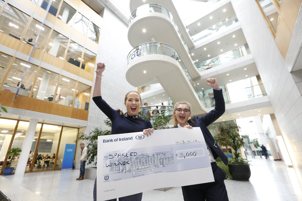 Well done to the @ULEnactus team who took part in the @cti @enactusIreland &#39;Pathways to Progress&#39; programme showcase. UL Students Catherine Hallinan and Lucinda – Jayne Hamilton came away as the winners with €3,000 for 'SparkED' their programme to empower TY students. #StudyAtUL <br>http://pic.twitter.com/K0hthGfAvB