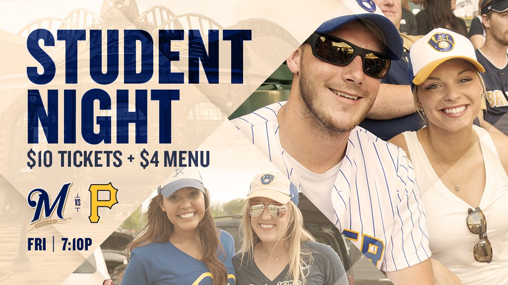 $10 tickets + $4 menu? Being a student certainly has its perks. https://t.co/7fvmMqb8LX https://t.co/3Er3bHcH8i