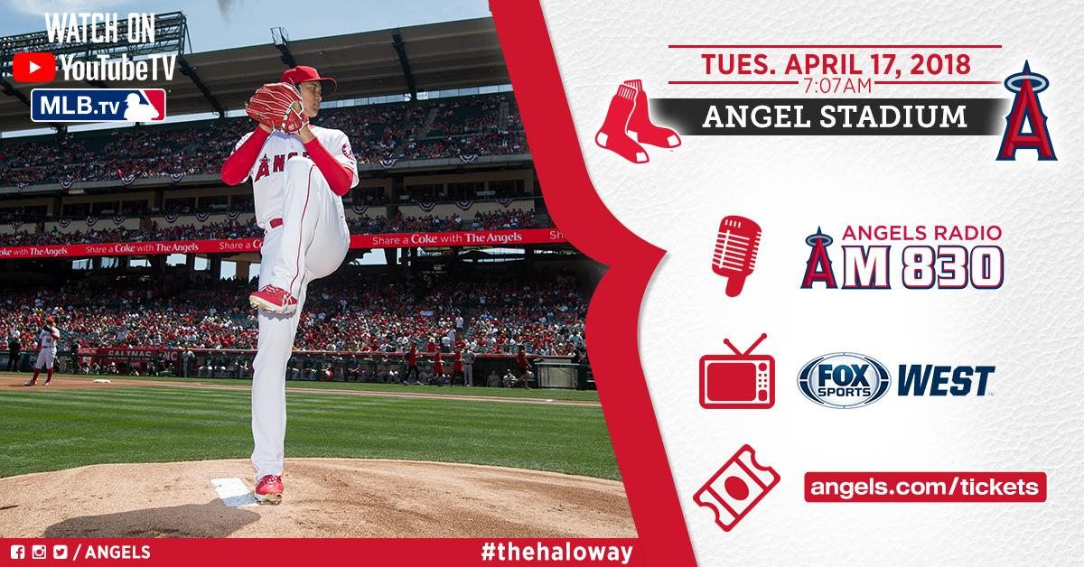 Ohtani Palooza continues #AtTheBigA tonight!  ⏰ 7:07pm �� @FoxSportsWest, @MLBTV, @YouTubeTV  �� @AngelsRadioKLAA https://t.co/U6toO1QGjd