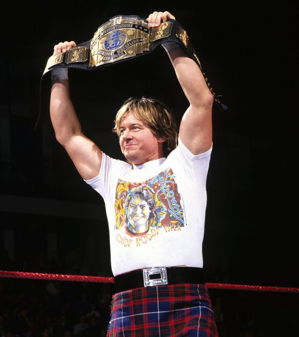 Happy Birthday to the late great and surely one of the greatest of all time «Rowdy» Roddy Piper !