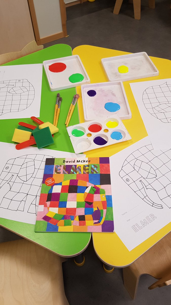 Kings College Latvia On Twitter Another Lovely Morning With Our Elmer Friends Very Young And Their Families In Play Explore Learn Group Today We Read The Elephant Did Activities