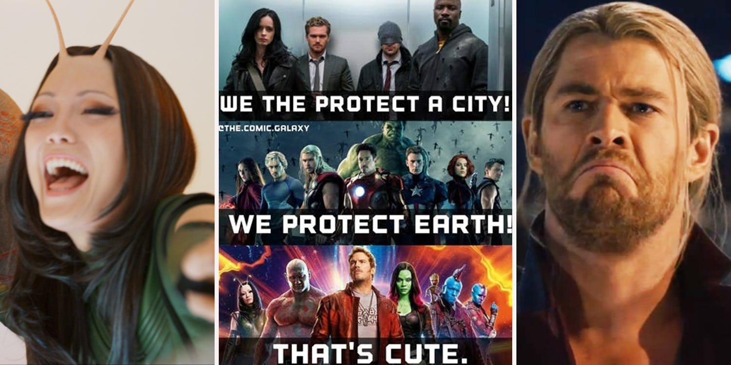 12 Avengers And Guardians Of The Galaxy Memes To Get You Through The Day https://t.co/xQ7eqpKBEI https://t.co/uQPrOpKOQf