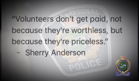 Thank you to our volunteer Chaplains, Auxiliary Officers and @VicSvcsNiagara. Your contributions to our community is commendable.  #NationalVolunteerWeek2018 <br>http://pic.twitter.com/01rs2Zk62w