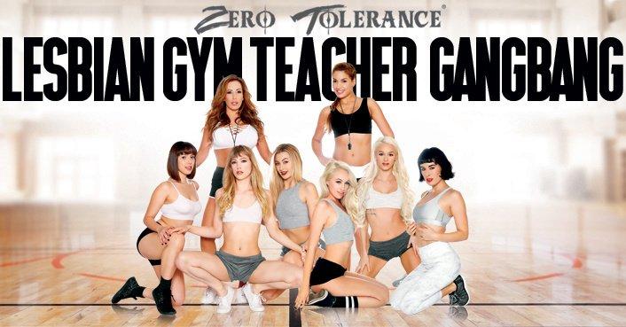 Lesbian teacher gangbang