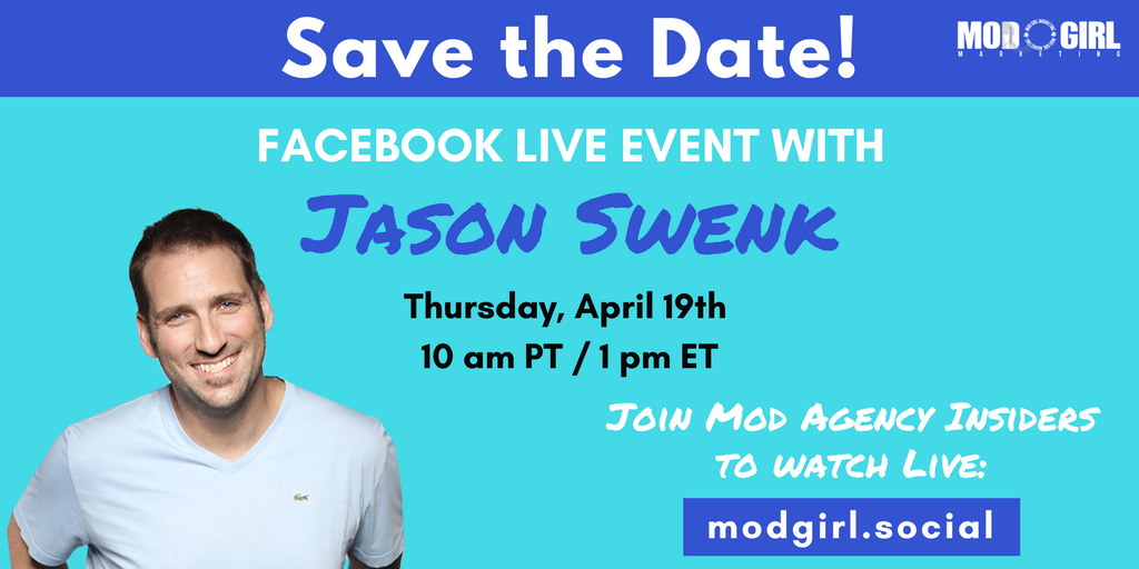Discover the 3 must-have systems to boost #conversion rates and scale your #biz. Watch @MandyModGirl's FB Live interview w/ @JSwenk Thursday, April 19.   Join our FB group to tune in: https://t.co/4czsYzpdR5