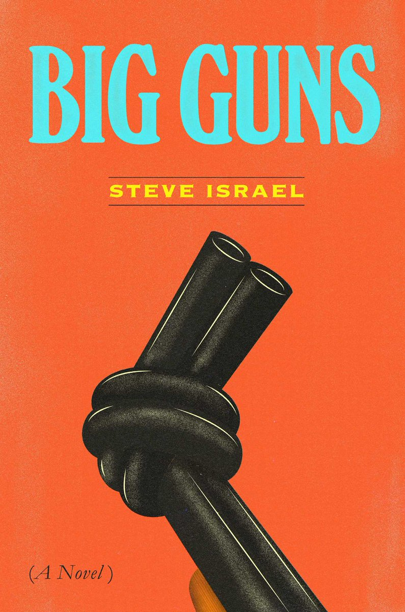 I highly recommend reading 'Big Guns' a satire of the gun lobby and Congress by my friend @RepSteveIsrael Get your copy today! https://t.co/jWVLkXk0Lm #BigGuns