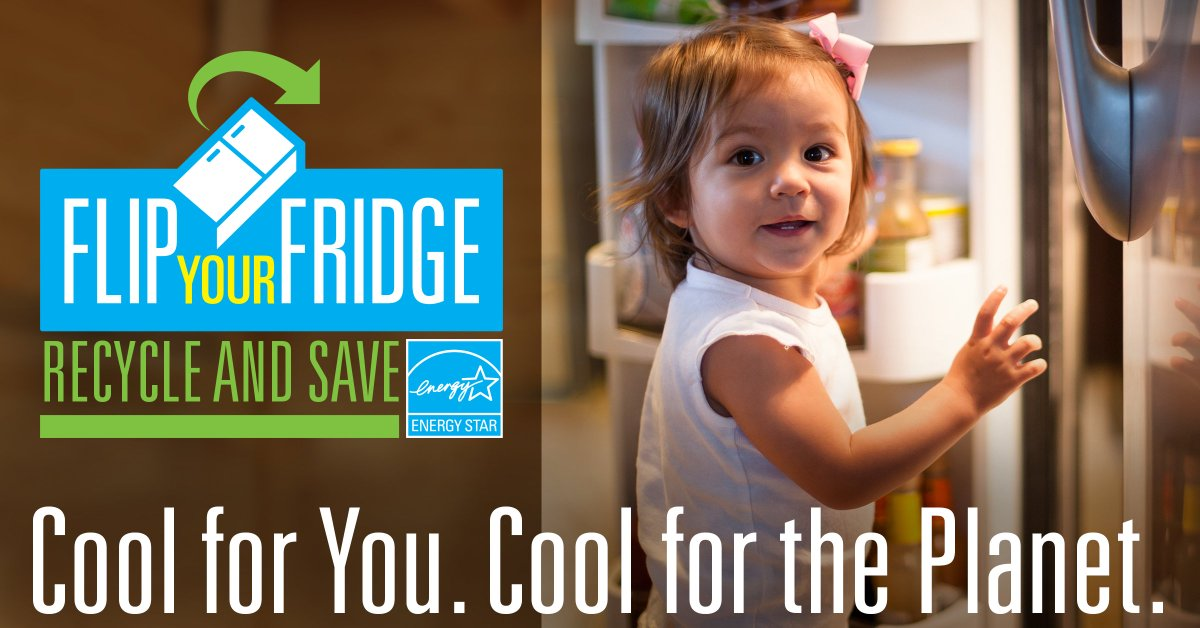 test Twitter Media - It's time to Flip Your Fridge! Recycle that old energy-wasting refrigerator and replace it with a new ENERGY STAR certified model. You'll save money and help protect the climate. To learn more about how you can recycle with UGI, visit: https://t.co/JIC2KkKXbp https://t.co/S1eHRvsSBB