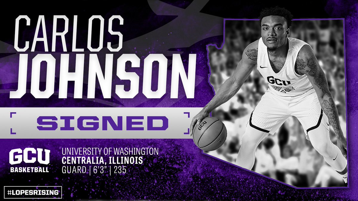 Were proud to welcome Carlos Johnson to the program. #LopesRising