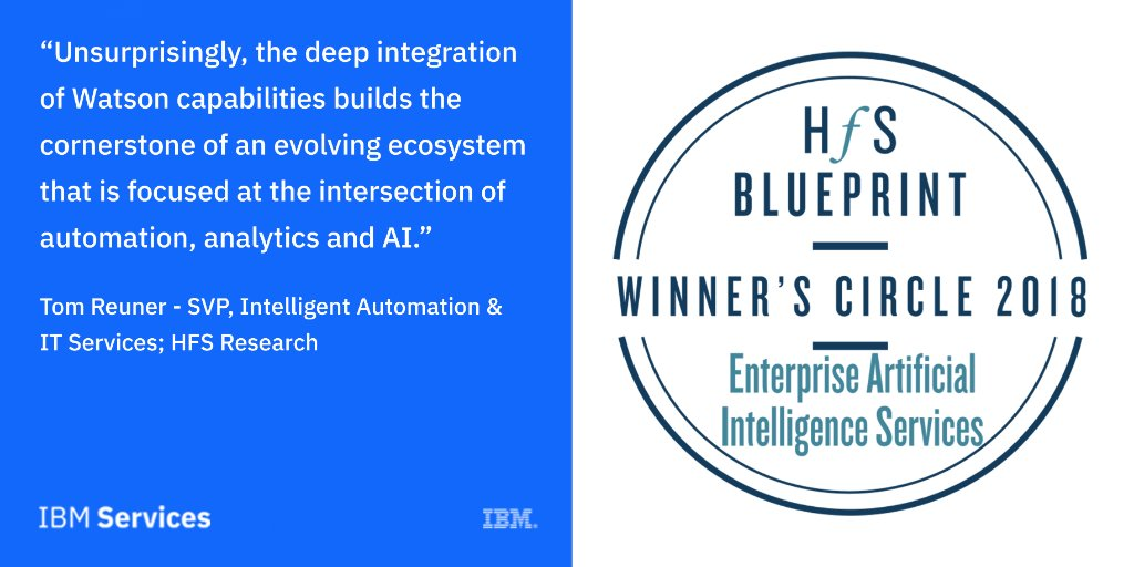 Ibm services on twitter weve been ranked 1 in execution of ibm services on twitter weve been ranked 1 in execution of enterprise ai programs in the latest hfsresearch blueprint report malvernweather Images